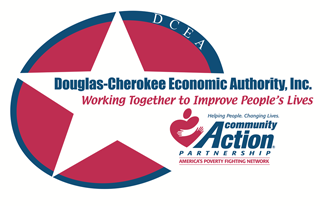 Douglas-Cherokee Economic Authority, Inc. (DCEA) The PURPOSE of the agency is to help families living in poverty improve their level of living by providing them with assistance and services that they are not able to provide for themselves.